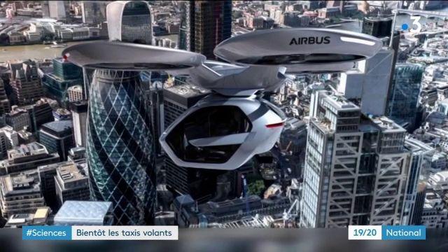 Transports : bientôt des taxis volants dans les villes ?