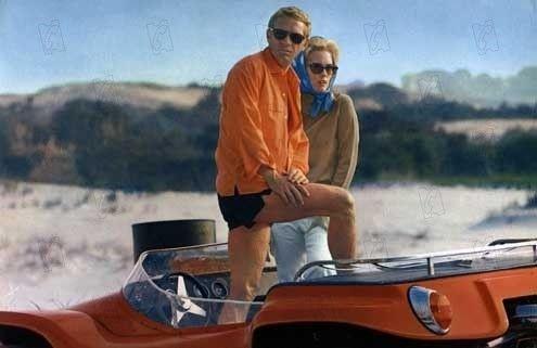 """""""L'affaire Thomas Crown"""" avec Faye Dunaway et Steeve McQueen  (DR)"""