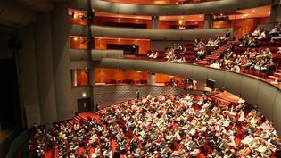 Les gradins de l'Opéra Théâtre de Saint Etienne  (CELIK ERKUL/PHOTOPQR/LE PROGRES)