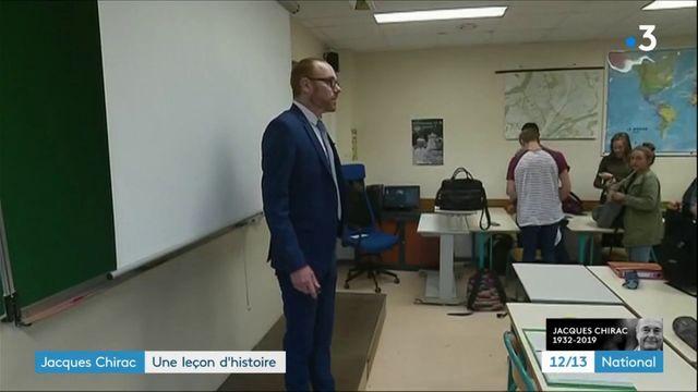 Mort de Jacques Chirac : les enseignants pourront consacrer un cours à l'ancien président