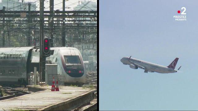 Vacances : les Francais vont-ils décider de ne pas prendre le train et l'avion ?