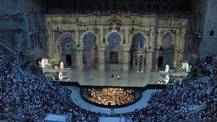 Le Théâtre antique d'Orange (juillet 2013)  (Raymond Delalande / SIPA)