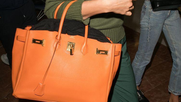 Un sac Birkin de la marque de luxe Hermès. Photo d'illustration. (MARC PIASECKI / GC IMAGES)