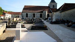 La tombe du général de Gaulle, le 28 mai 2017 à Colombey-les-Deux-Eglises (Haute-Marne). (FRANCOIS NASCIMBENI / AFP)
