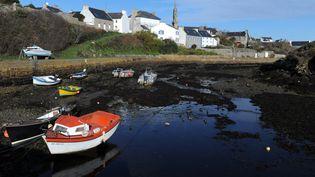 Vue d'Ouessant dans le Finistère. (FRED TANNEAU / AFP)