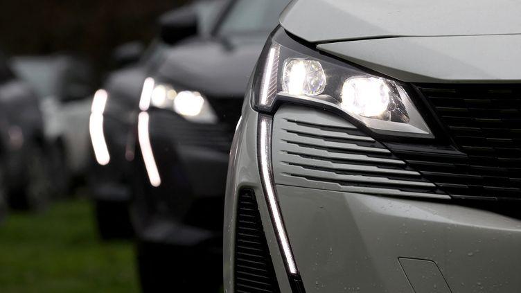 Le réseau francilien de vol de voitures dérobait notamment des Peugeot 3008. Photo d'illustration. (ISA TERLI / ANADOLU AGENCY)