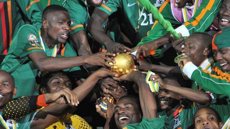 La Zambie avait créé la surprise en remportant l'édition 2012 face à la Côte d'Ivoire (ISSOUF SANOGO / AFP)