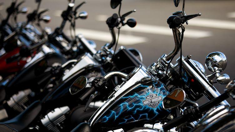 Le constructeur de moto Harley Davidson a annoncé une délocalisation partielle de sa production hors des États-Unis. (DREW ANGERER / GETTY IMAGES NORTH AMERICA)