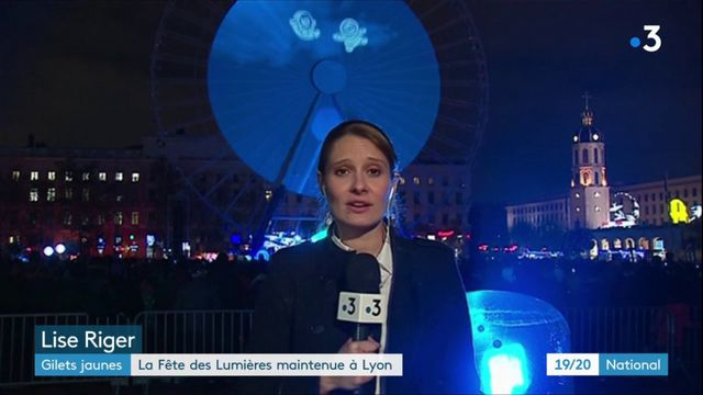 """""""Gilets jaunes"""" : la Fête des Lumières est maintenue à Lyon"""