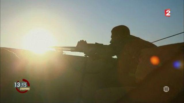 DOCUMENT FRANCE 2. En première ligne dans la bataille de Raqqa contre l'Etat islamique en Syrie