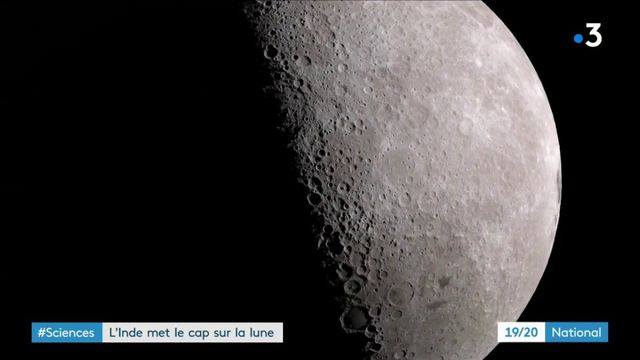 Espace : objectif Lune pour l'Inde