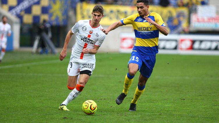 Grâce à un but de Sané, Sochaux a battu Lorient à Bonal samedi. (MAXPPP)