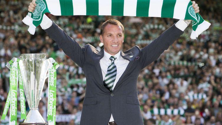Brendan Rodgers, l'ancien entraîneur de Liverpool, aujourd'hui à la tête du Celtic Glasgow (JEFF HOLMES / BACKPAGE IMAGES LTD)