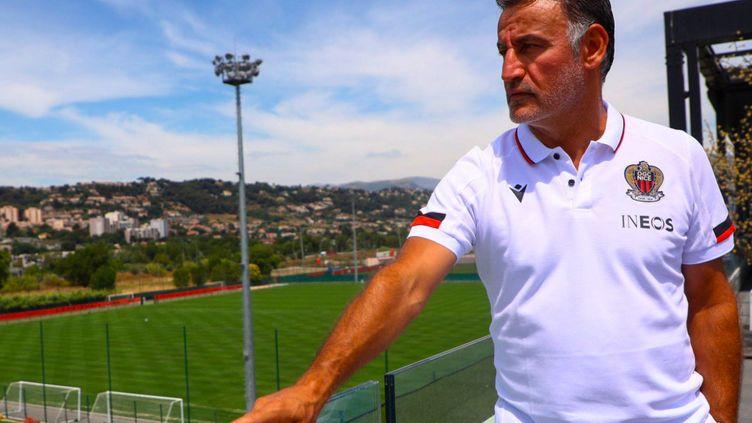 Christophe Galtier est le nouvel entraîneur de l'OGC Nice. (OGC Nice)
