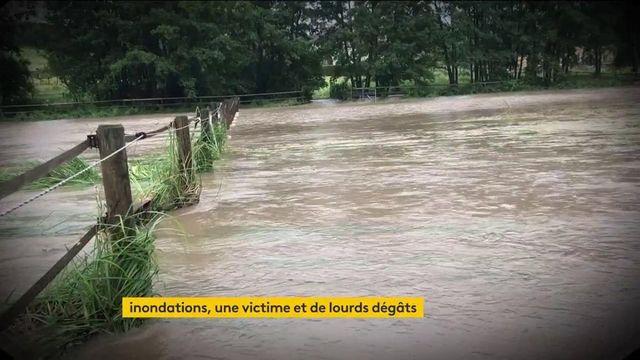 Inondations : un mort et de lourds dégâts sont à déplorer