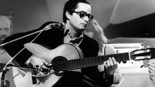Le guitariste brésilien Baden Powell le 1er juin 1970 (MARY EVANS/SIPA / SIPA)