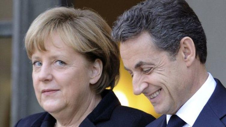 Angela Merkel fera campagne pour Nicolas Sarkozy (AFP)