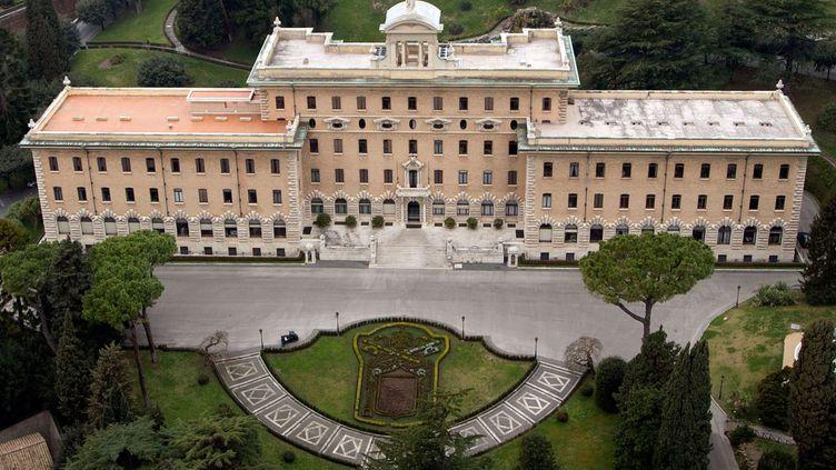 Le palais du gouvernorat,auVatican. (ANDREW MEDICHINI / AP / SIPA)