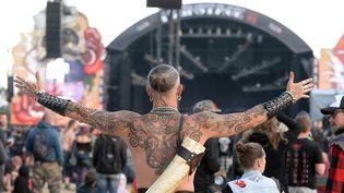 Hellfest, le festival qui rend les Metalheads heureux.  (Marc Ollivier / PQR Ouest-France / MaxPPP)