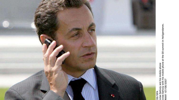 Nicolas Sarkozy, le 7 juin 2007, lors d'un sommet du G8 à Heiligendamm (Allemagne). (SIPA)