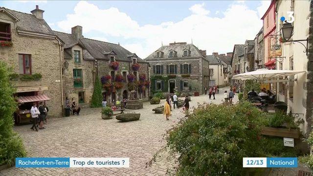 Morbihan : y-a-t-il trop de touristes à Rochefort-en-Terre ?