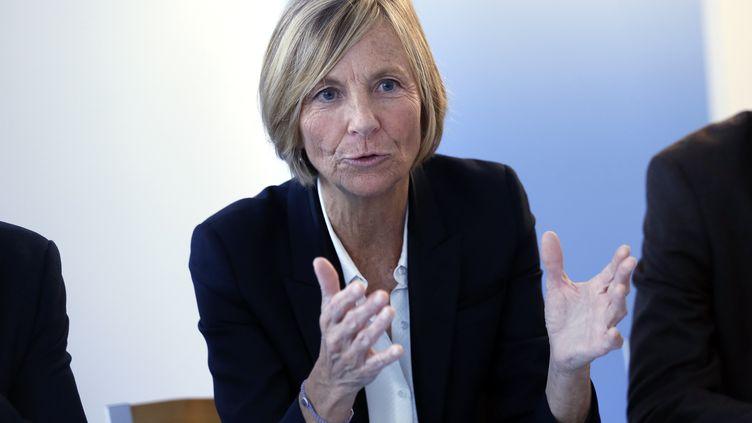 L'ancienne ministre des Affaires européennes, Marielle de Sarnez, à Paris, le 28 octobre 2013. (THOMAS SAMSON / AFP)