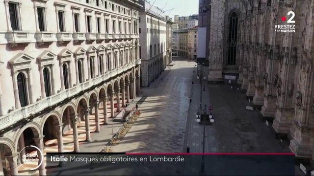 Italie : port du masque obligatoire pour tous les habitants de Lombardie
