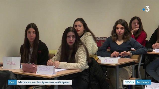 Baccalauréat : menaces sur les épreuves anticipées