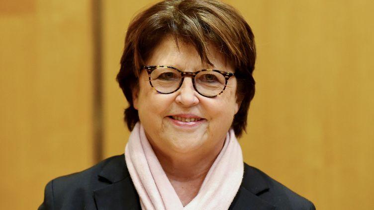 Martine Aubry, maire de Lille (Nord), à Paris, le 13 février 2019. (ERIC PIERMONT / AFP)
