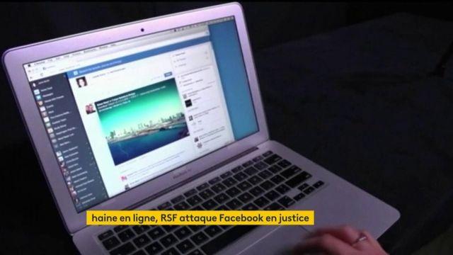 Haine en ligne : l'ONG RSF attaque Facebook
