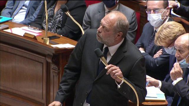 Eric Dupond-Moretti chahuté pour sa première séance de questions au gouvernement