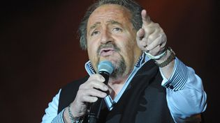 """Richard Anthony lors d'un concert de la tournée """"Age tendre et têtes de bois"""", le 13 novembre 2012 à Lyon (Rhône). (  MAXPPP)"""