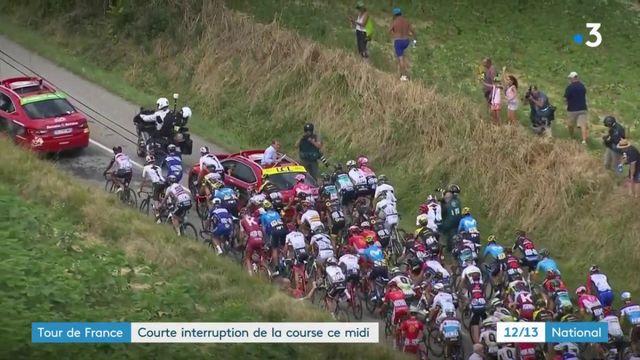 Tour de France : des agriculteurs interrompent  la course