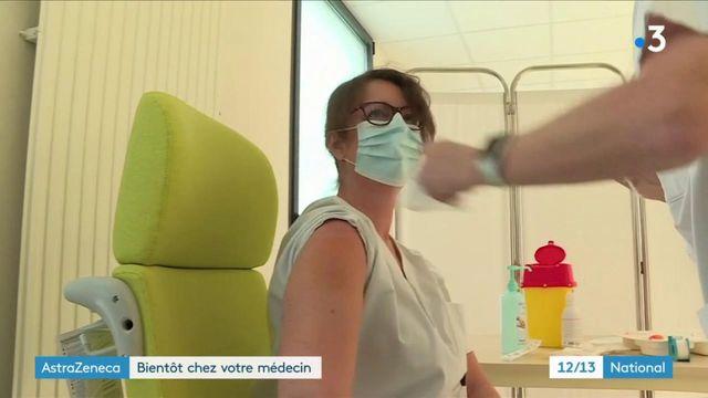 Covid-19: le vaccin AstraZeneca bientôt disponible chez les médecins généralistes pour les 50-64 ans