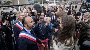 Edouard Philippe après son élection au conseil municipal du Havre, le 5 juillet 2020. (SAMEER AL-DOUMY / AFP)