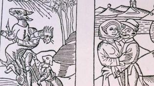 À Rouffach, en Alsace, les sorcières font partie du folklore, mais derrière la petite histoire, celle d'un génocide de femmes, victimes de la fièvre inquisitrice des hommes. (France 2)