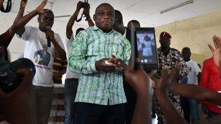 Kouadio Konan Bertin avait claqué la porte du PDCI en 2015 en dénonçant le soutien apporté par son parti à Alassane Ouattara. Il a rejoint récemment sa famille politique. (Photo AFP/Issouf Sanogo)