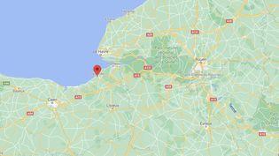 La police a déjoué une rixe entre bandes rivalesà Deauville, jeudi25 février 2021. (CAPTURE D'ÉCRAN GOOGLE MAPS)