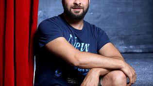 Isamël Saidi, réalisateur, dramaturge, metteur en scène, écrivain. (BRUNO COUTIER / AFP)
