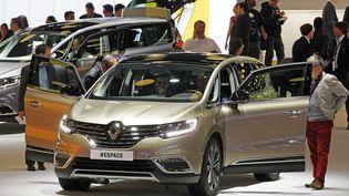 Le nouveau Renault Espace présenté lors du dernier Monial de l'Automobile, le 3 octobre 2014 à Paris. (REMY DE LA MAUVINIERE / AP / SIPA)