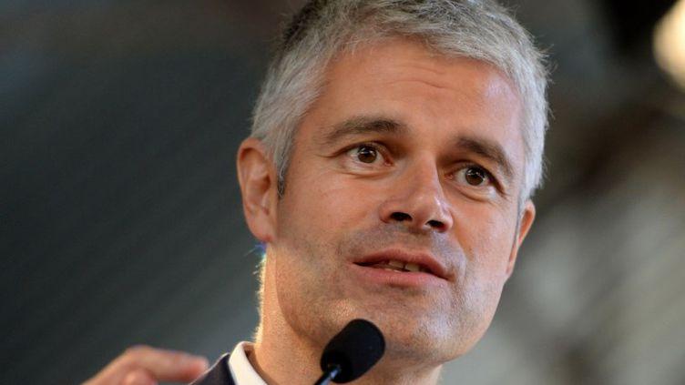 Laurent Wauquiez est candidat à la présidence des Républicains. (GUILLAUME SOUVANT / AFP)