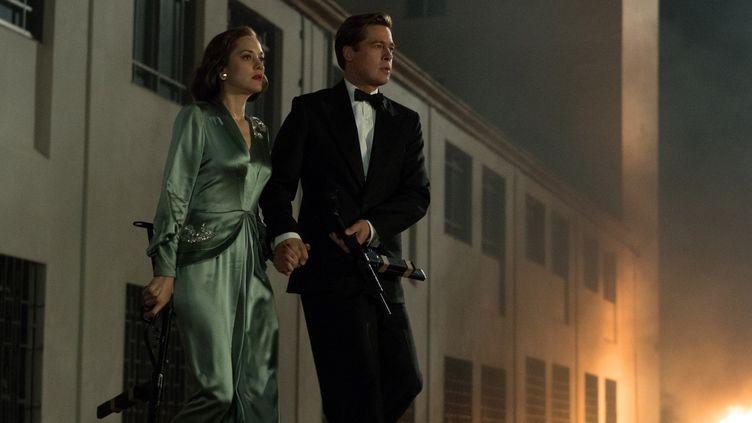 "Marion Cotillard et Brad Pitt dans ""Alliés"" de Robert Zemekis  (2016 Paramount Pictures. All Rights Reserved. / Daniel Smith)"