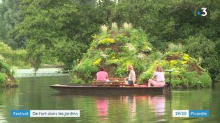 Le festival international de jardins Hortillonnages d'Amiens (France 3 Picardie)