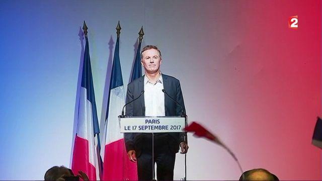 Nicolas Dupont-Aignan veut unir les droites