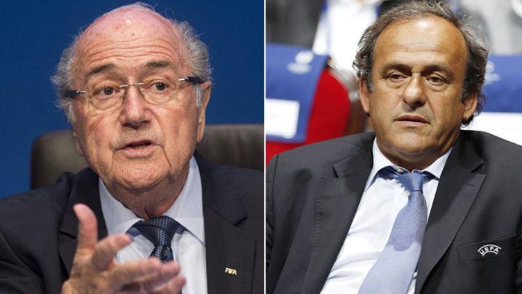 (Sepp Blatter et Michel Platini © Maxppp)