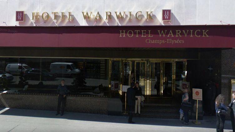 L'hôtel Warwick, à Paris (illustration). (GOOGLE MAPS)