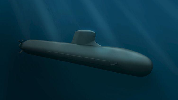 Un modèle de sous-marin de DCNS commandé par l'armée australienne. Photo diffusée par le groupe français le 22 avril 2016. (REUTERS)