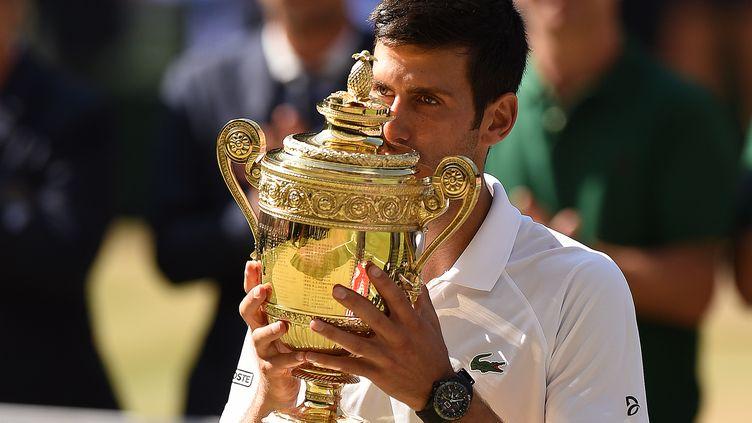 Djokovic (OLI SCARFF / AFP)