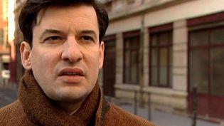 Eric Caravaca est Jean Moulin  dans Alias Caracalla  (France 3 / Culture box)