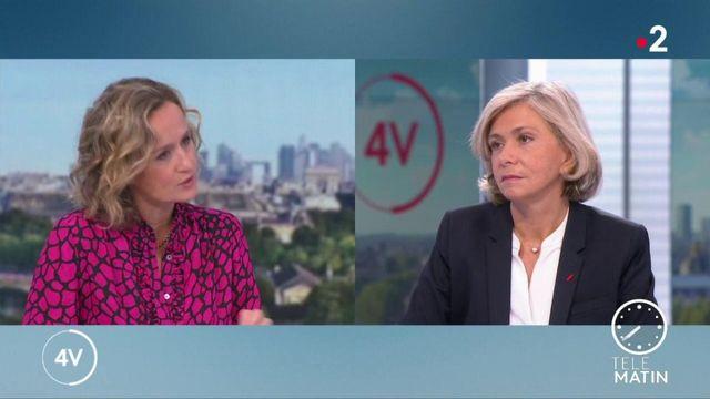 """""""L'État doit être là et doit compenser les pertes de recettes"""" : Valérie Pécresse est l'invitée des 4 Vérités"""